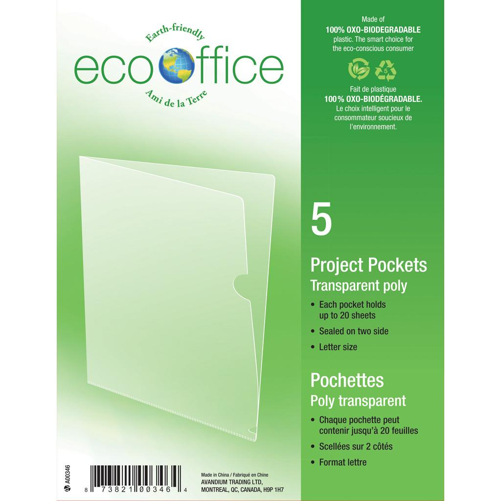 Project Pockets, 5PK, Clear