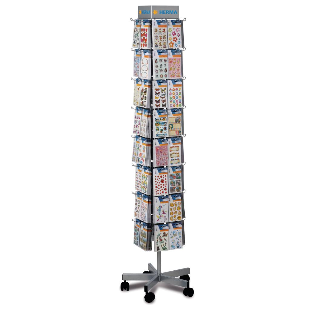 MIDI Sticker Floor Display, 64 Hooks