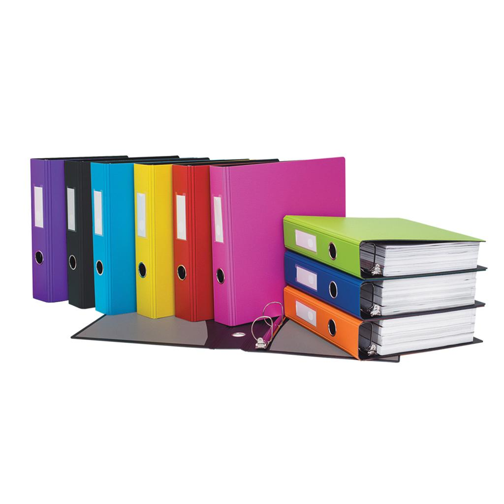 "2"" Heavy-Duty Binder, D-Ring, Assorted"