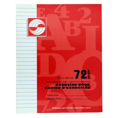 Exercise Book, Ruled, 72pg
