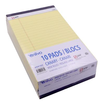 Writing Pad Ruled, Taped, 50 Sheets
