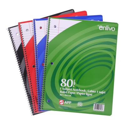 Coil Exercise Book, Ruled, 80pg