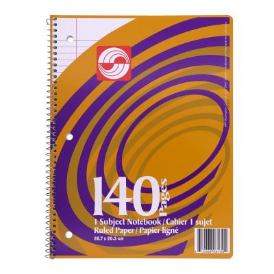 Coil Exercise Book, Ruled, 140pg