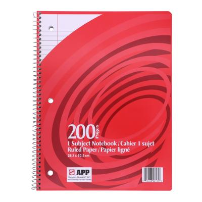 Coil Exercise Book, Ruled, 200pg