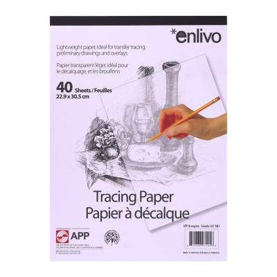 "Tracing Paper, 9""x12"", 40 Sheets"