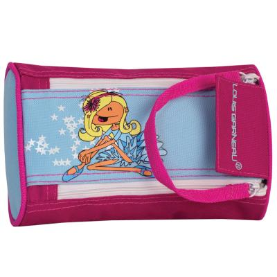 LG Pencil Case, 2-Zippers - Ballet