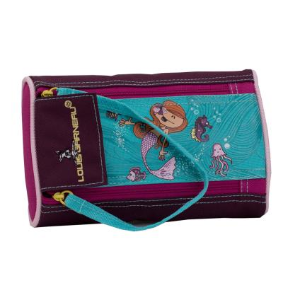 LG Pencil Case, 2 Zippers - Mermaid