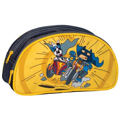 LG Pencil Case, Half Moon - Heroes