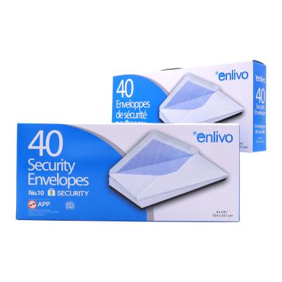 Security Envelopes, N?? 10, 40/Box