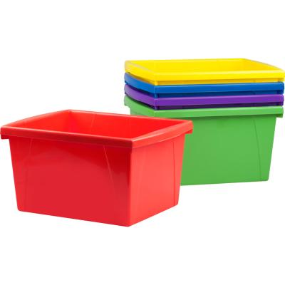 Classroom Storage Bins, 15L, assorted