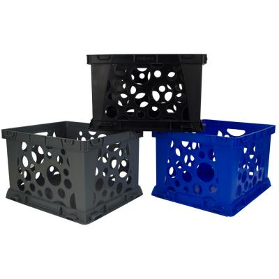 Stackable Storage Crate Large, Assorted