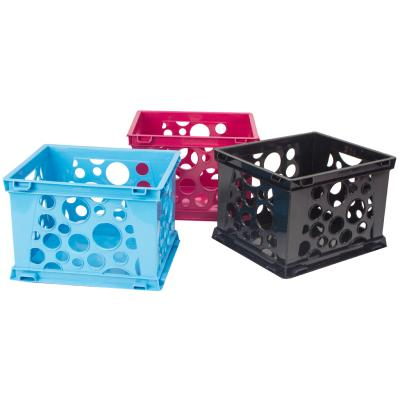 Stackable Storage Crate Micro, Assorted