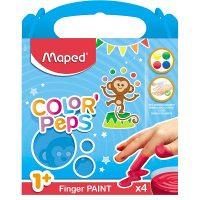 Color'Peps Finger Paint, 4 x 80g
