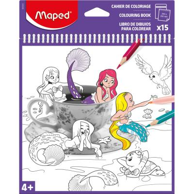 Colouring Book X15 Assorted Sheets