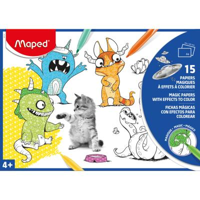 Magic Colouring Paper X15