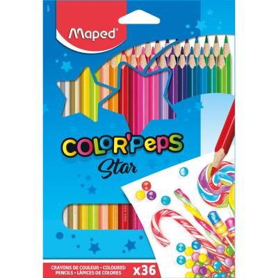 Color'Peps Coloured Pencils, x36