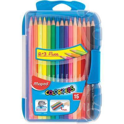 Color'Peps Coloured Pencils, Smartbox, x15