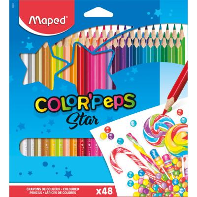 Color'Peps Coloured Pencils, x48