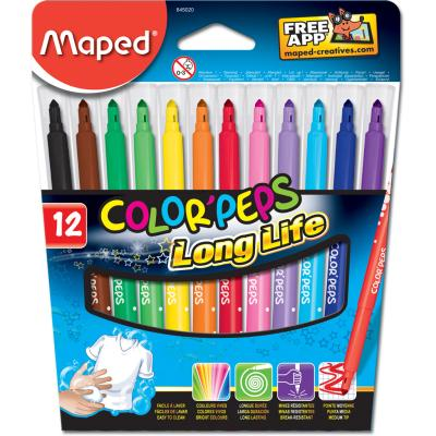 Color'Peps Long Life Markers, x12
