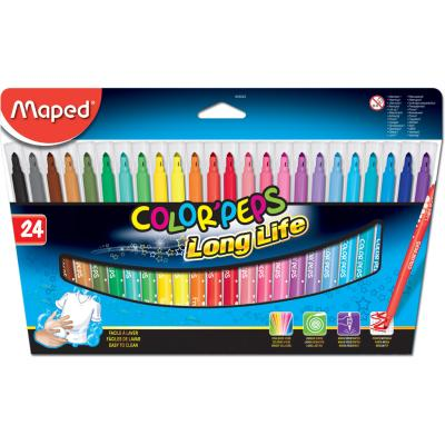 Color'Peps Long Life Markers, x24