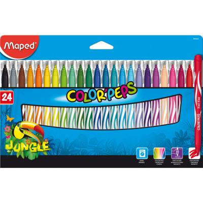 Color'Peps Jungle Markers, x24