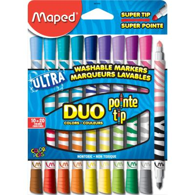 Color'Peps Duo Colours Markers, x10