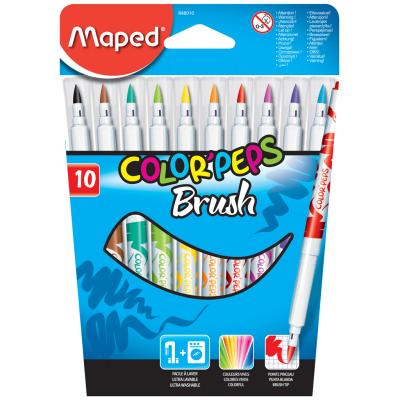 Color'Peps Brush Marker, x10