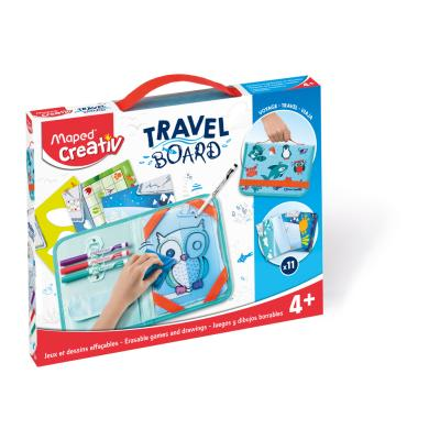 Travel Board - Erasable Games & Drawings