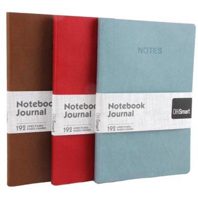 "Leatherette 7""x9"" Ruled Journal, Assorted"