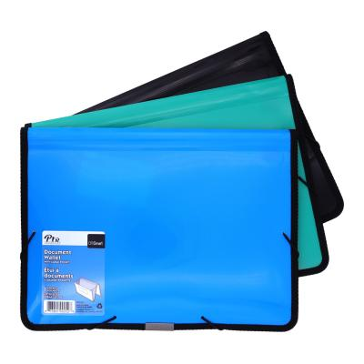 High Capacity Document Wallet, Assorted