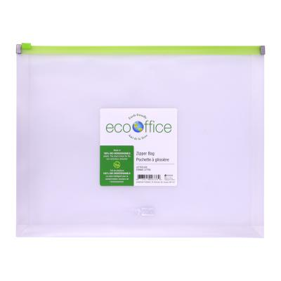 Expanding Zipper Envelope , Letter size, Clear