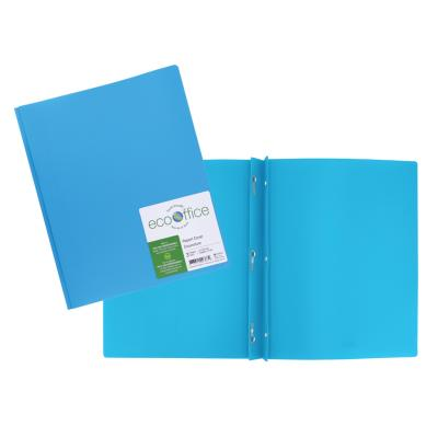 Poly 3-Prong Report Cover, Blue