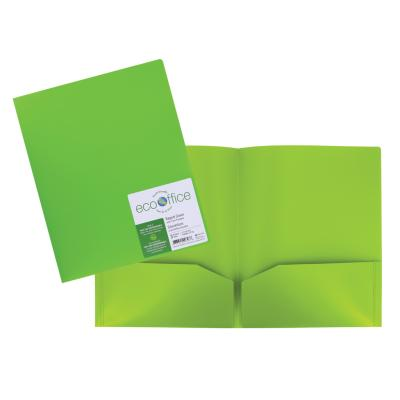 2-Pocket Portfolio, Green