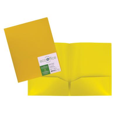 2-Pocket Portfolio, Yellow
