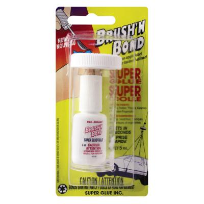 Super Glue Brush & Bond, 5ml
