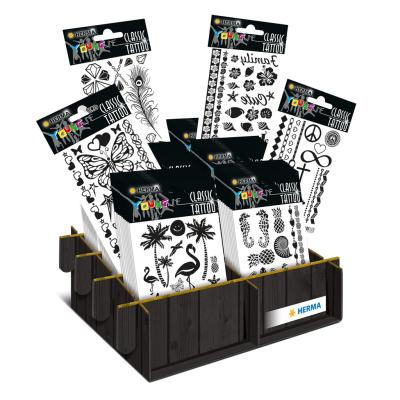 Kids Tattoos, Black (Display x60)