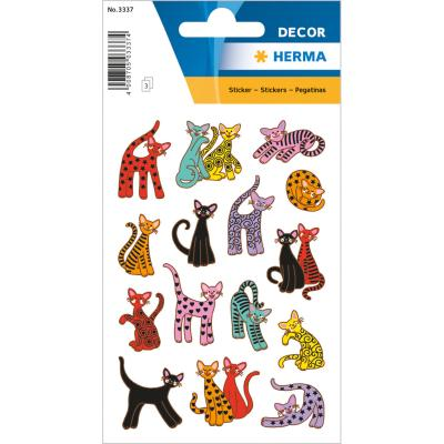 Stickers DÉCOR Abstract Cats