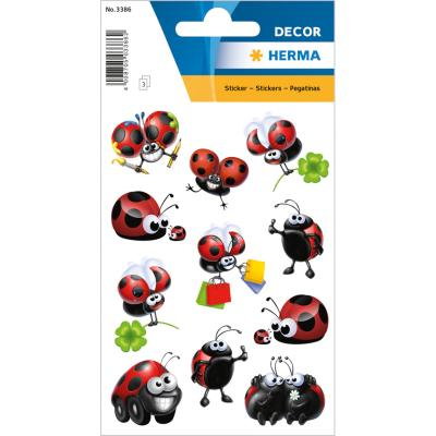 Stickers DÉCOR Funny Ladybird