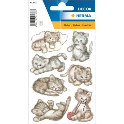 Stickers DECOR Mignons chatons