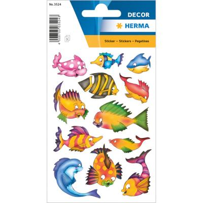 Stickers DÉCOR Colourful Fishes
