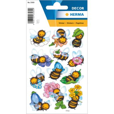 Stickers DÉCOR Funny Bees