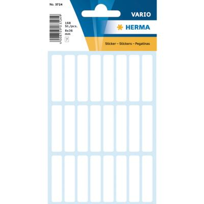 VARIO Rectangular Labels, 8x36 mm, White