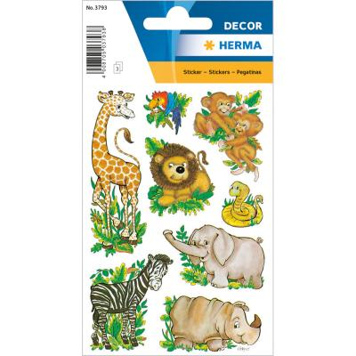 Stickers DÉCOR Jungle Animals