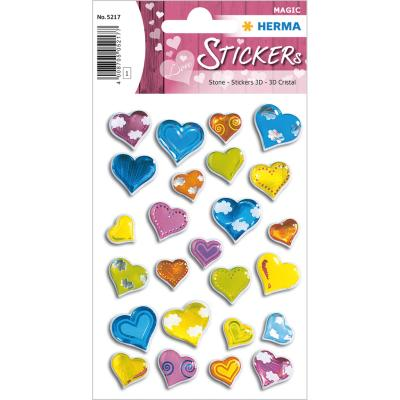 Stickers MAGIC Hearts, Stone