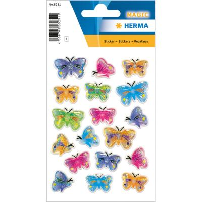 Stickers MAGIC Butterflies, Stone
