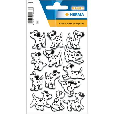 Stickers MAGIC Dalmatians, Foam