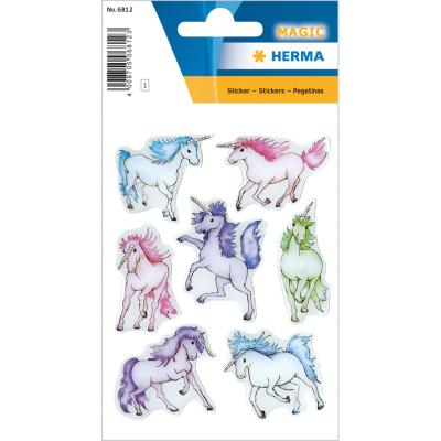 Stickers MAGIC Unicorns, Stone