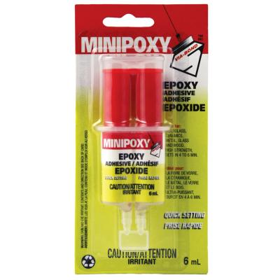 Adhesive Epoxy, Quick Set, 6ml