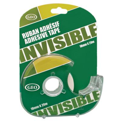 Adhesive Tape, Invisible, 18mm x 33m