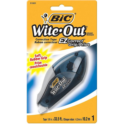 Wite-Out Correction Tape with Grip, 10M
